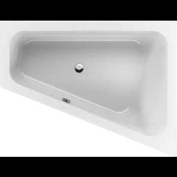 Villeroy & Boch Loop & Friends bad 175x135cm speciale vorm rechts, wit alpin