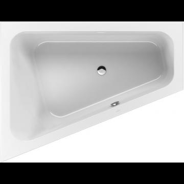 Villeroy & Boch Loop & Friends bad 175x135 cm, links met hoekige binnenvorm, wit