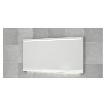 Bruynzeel wandspiegel met horizontale LED-verlichting en verwarming 160x70 cm