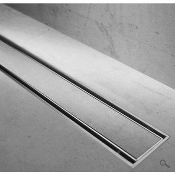 Easy Drain Compact TAF verlaagd rooster voor douchegoot 100cm voor tegeldikte 3-13mm, rvs