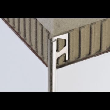 Schlüter Rondec buitenhoek 10 mm, mat, aluminium