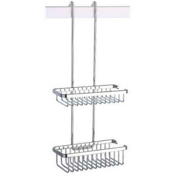 Geesa Basket Double hangende korf, chroom