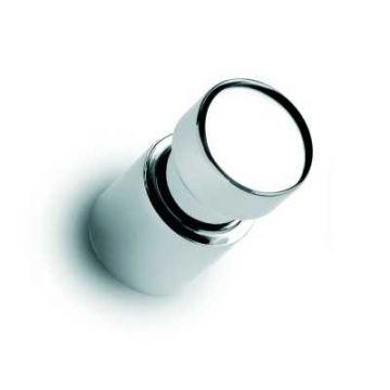 Vasco Zana handdoekknop met brede gleuf 22 x 42mm, chroom