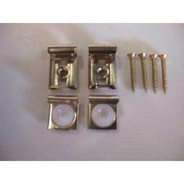 Sub 146 spiegelklemmen set voor zwaar model, RVS