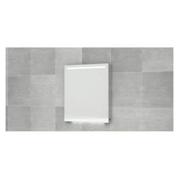 Bruynzeel wandspiegel met horizontale LED-verlichting en verwarming 70x70 cm