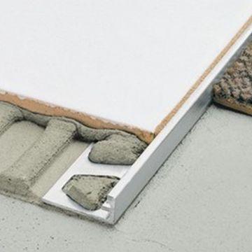 Schlüter Schiene-AE tegelprofiel 6 mm, 250 cm, aluminium, mat geanodiseerd aluminium