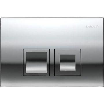 Geberit Delta50 bedieningspaneel 2-knops frontbediening, chroom
