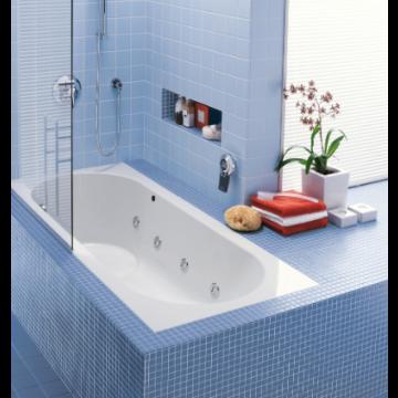 Villeroy & Boch Libra bad 180x80 cm inclusief potenset, wit