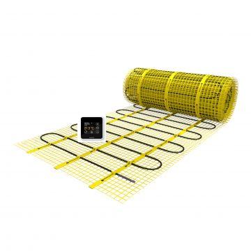 Magnum Mat vloerverwarmingsmat met X-treme control klokthermostaat 1,5 m², 225w