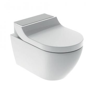 Geberit AquaClean Tuma Comfort douche wc met decorplaat, wit