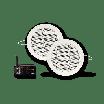 AquaSound bluetooth music-center 50w m/twist speakerset