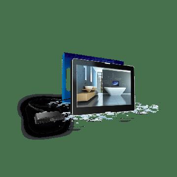 """AquaSound Exclusive inbouw led tv 27"""" dvb-c / dvb t/ dvb-t2,hdmi-cec"""