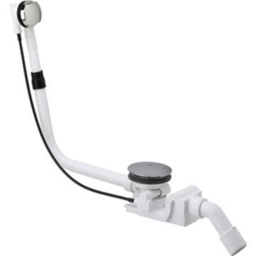 Viega Rotaplex basisgarnituur badafvoer 90 mm, voor standaard bad, chroom