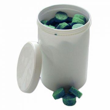De Beer urinoir/wc geursteen doosje à 750gram (+/- 57 blokjes), citroengeur