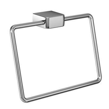 Emco Trend handdoekring 13,6 x 19 x 7,3 cm, chroom