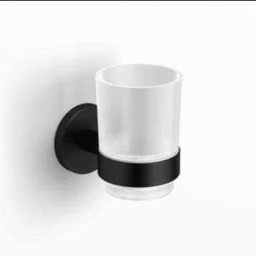 Sub 156 glashouder met glas, mat zwart