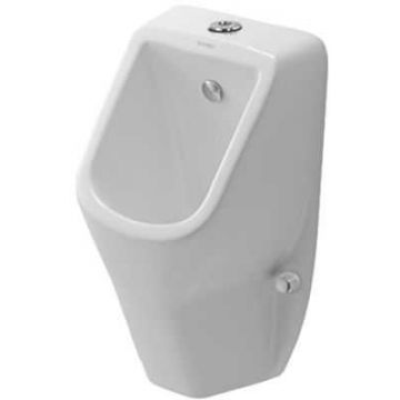 Duravit D-code urinoir toevoer boven / met sifon en bevestiging, wit