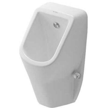 Duravit D-code urinoir toevoer achter / met sifon en bevestiging, wit