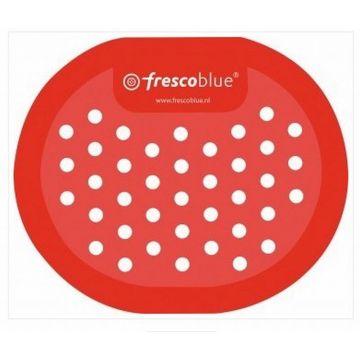 Wisa FrescoBlue urinoirrooster per 10 stuks verpakt, rood