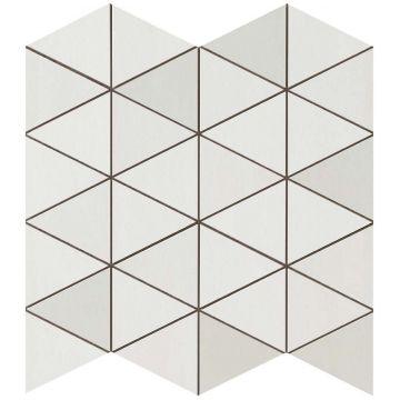 Atlas concorde Mek tegelmat mosaico diamond wall 30,5x30,5 cm, light mosaico