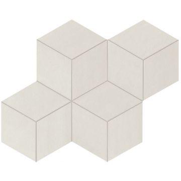 Atlas concorde Mek tegelmat mosaico esagono 30x35 cm, light mosaico esagono