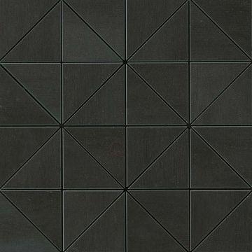 Atlas concorde Mek tegelmat mosaico prisma 36x36 cm, dark mosaico prisma