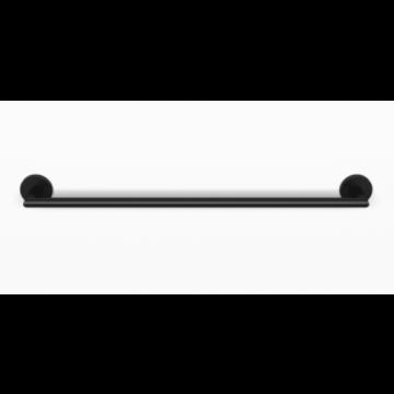 Sub 156 handdoekhouder 60 cm., mat zwart