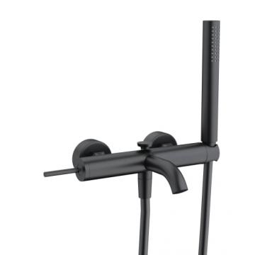 Sub 093 afdekset voor badkraan met joystick hendel, mat zwart