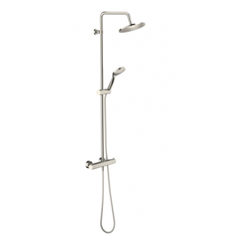 Sub 201 showerset met thermostaat, brushed