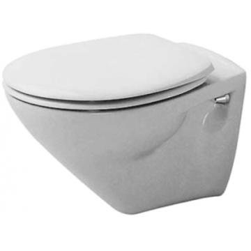 Duravit Duraplus toiletzitting met deksel, wit