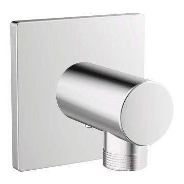 "Hansa Designo wandaansluitbocht 1/2"", chroom"