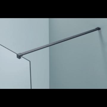Sub 066 stabilisatiestang 120 cm., mat zwart
