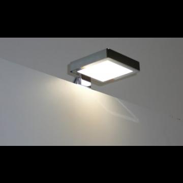 Sub 129 LED-verlichting voor spiegel 10 cm, chroom