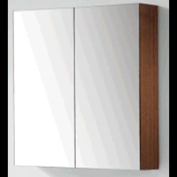 Sub 120 spiegelkast met 2 deuren 80x60,5 cm, wit gelakt