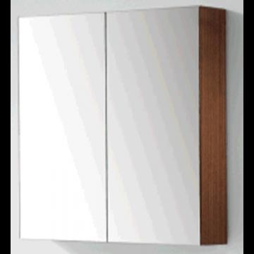 Sub 120 spiegelkast met 2 deuren 80x60,5 cm, zilver eiken