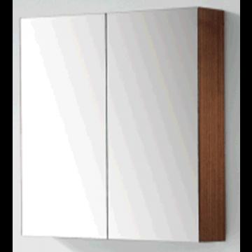 Sub 120 spiegelkast met 2 deuren 60x60,5 cm, wit gelakt