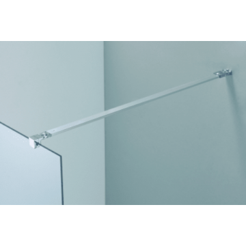 Sub 062 hoek stabilisatiestang 120 cm., chroom