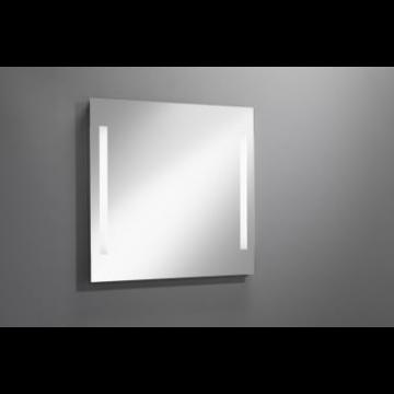 Sub 129 spiegel 100x80 cm. met led verlichting verticaal