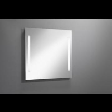 Sub 129 spiegel 120x80 cm. met led verlichting verticaal