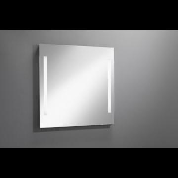 Sub 129 spiegel 60x80 cm. met led verlichting verticaal