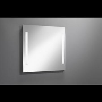 Sub 129 spiegel 90x80 cm. met led verlichting verticaal