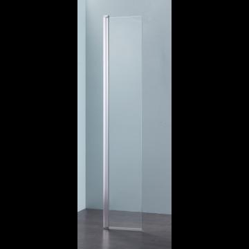 Sub 066 draaideel walk-in 35x200 cm., glans staal-clean
