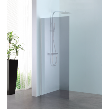 Sub 066 walk-in 90x200 cm., zilver-grijs clean