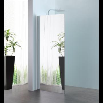 Sub 066 walk-in 100x200 cm., zilver-spiegelglas