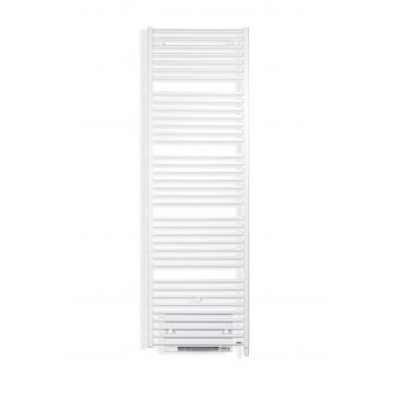 Vasco Iris hd-el-bl electr.radiator m/blower 500x1790 n35 2000w, zwart ral 9005