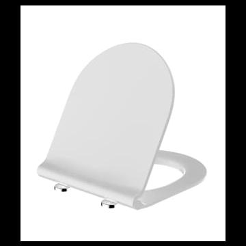 Sub 104 toiletbril met deksel SlimSeat en softclose en quickrelease, wit