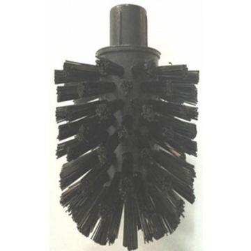 Guo R-line reserve closetborstel los zonder steel, zwart