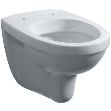 Wiesbaden Trevi hangend toilet diepspoel verkort 49 cm, wit