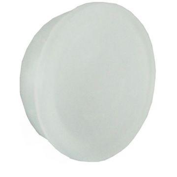 Wiesbaden kunststof sifonafsluiter 2,5 cm voor douchegoot, wit