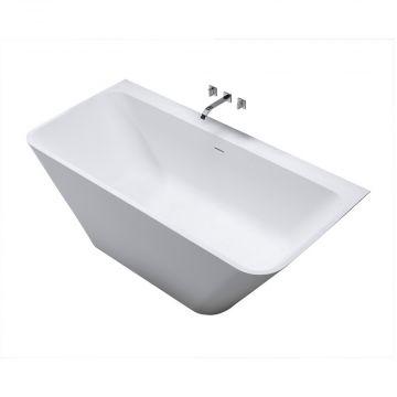 Sub semi-vrijstaand bad type 3 179x84,5x57,5 cm, wit